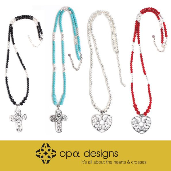 opa designs hearts and crosses