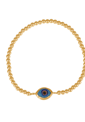 eye bracelet encased