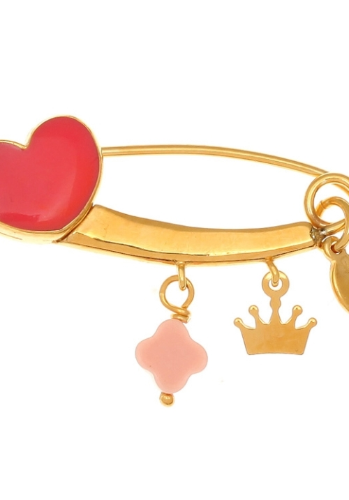 Brooche-silver-925-yellow-gold-plated-with-hanging-c